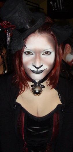 Trucco Gatto Dark Carnevale