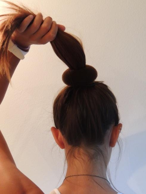 Doughnut, acconciatura capelli, Claire's