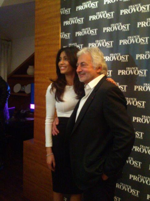 Federica Nargi Franck Provost