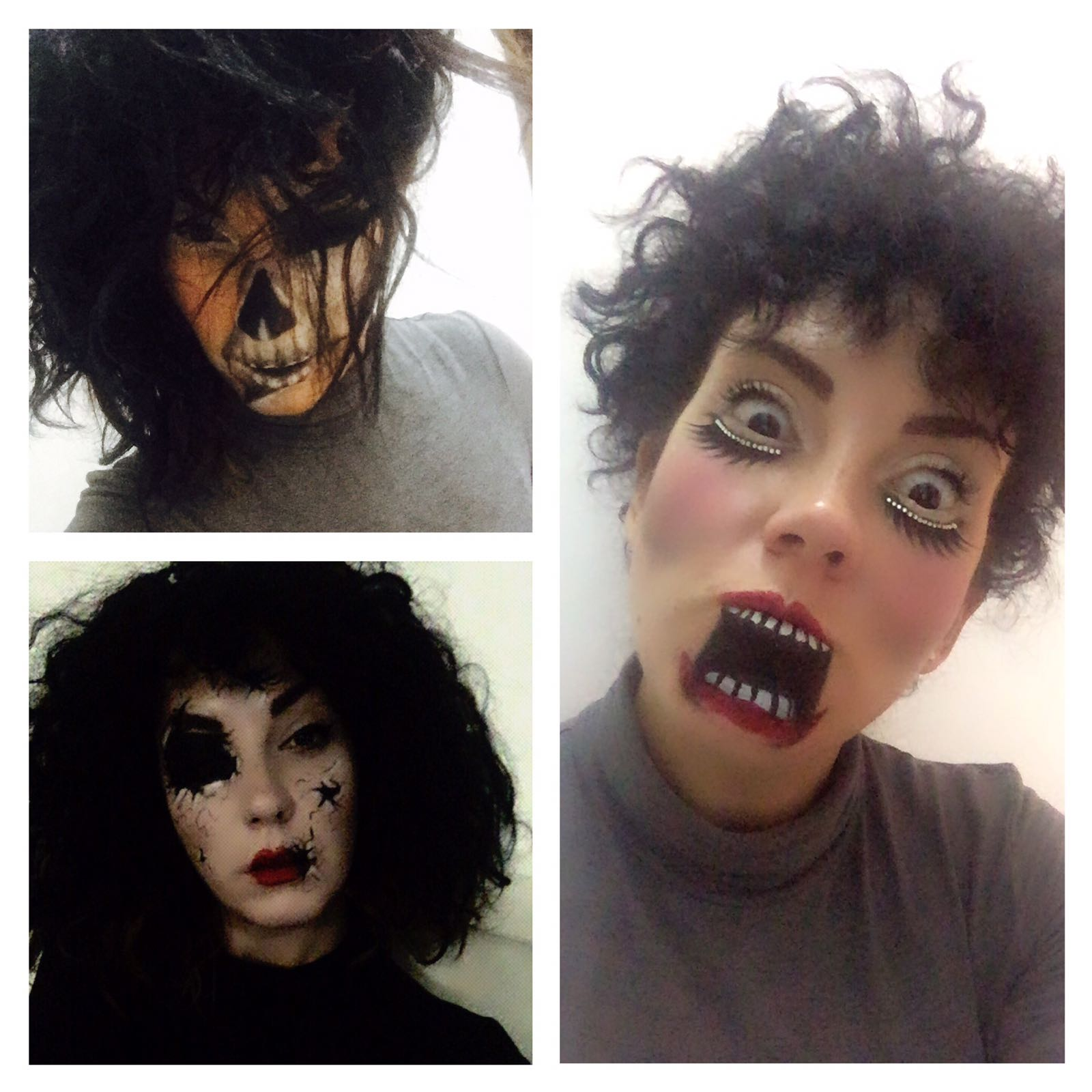 Trucco Halloween Facile.Trucco Semplice Halloween Grey S Shoes Mad For Shopping